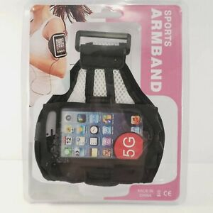 Armband Case Sports Gym Running  Exercise Arm Band Phone Holder Nylon & Mesh