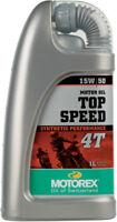 Motorex Top Speed 4T 15W-50 1 Liter 109327 98-0041 3601-0012 580-0230