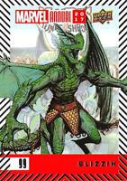 SLIZZIK / 2017 MARVEL ANNUAL (2018 Upper Deck) BASE Trading Card #99