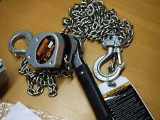 New Harrington Lx005 10 Mini Lever Chain Hoist Puller 1000 Lb Cap 10 Ft Lift