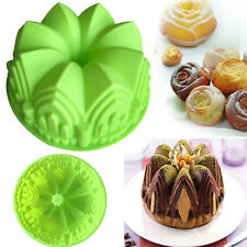 Silikon Gugelhupfform Napfkuchen Backform Kuchenform Rührkuchen Guglhupf Brot