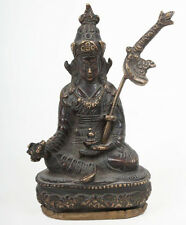 Tibet 20. Jh.  - A Tibetan Bronze Figure of Padmasambhava  - Tibétain Tibetano