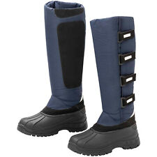 Winter Boots Navy - Size 6 1/2 Adult - Great for the yard, Riding or dog walking