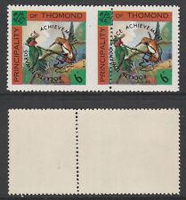 Ireland - Thomond 3998 -1968 HUMMING BIRDS pair 10mm PERF SHIFT u/m