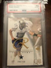 2003 Upper Deck Ultimate Collection RC ROOKIE 744/750 Tony Romo #58 PSA 9