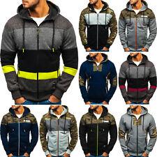 Kapuzenpullover Sweatjacke Hoodie Sweatshirt Pullover Herren Mix BOLF 1A1 Camo