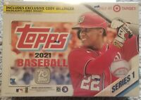✅⚾️🔥 2021 Topps Series 1 Mega Box MLB- Factory Sealed-Free Shipping