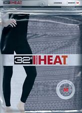 32 Degrees Weatherproof Heat Women's Leggings Size  M color •H.GRY FAIRISLE