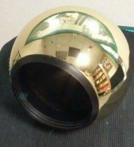 Halo Power-Trac L784X Polished Brass with Black inside Baffle Track Light