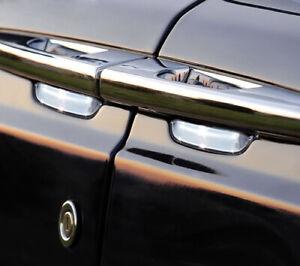 IDFR Rolls Royce Phantom 2005~on Chrome door handle shells , bowls , cups insert