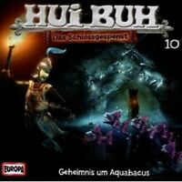 "HUI BUH ""GEHEIMNIS UM AQUABACUS FOLGE 10""CD HÖRBUCH NEU"