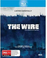 The Wire Tv series Complete Seasons 1-5 1 2 3 4 & 5 New Oz Blu Ray Box set