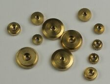 Clock hand NUTS x12 HERMLE American metric clockmakers parts repairs mixed new
