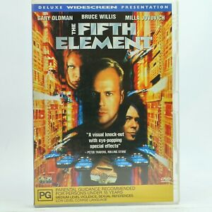 The Fifth Element Bruce Willis Milla Jovovich DVD R4 GC Free Tracked Post