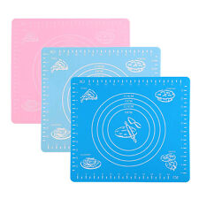 Silicone Rolling Mat Fondant Clay Pastry Icing Dough Cake Tool Sugarcraft Tool