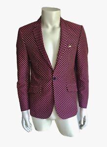 Moods of Norway Mens Suit Blazer Jacket Mid  Size 48 EUR/ 38 US