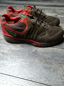Nike Air Talaria Baroque Brown/Classic Green-Sport Red Size 10 311704 231