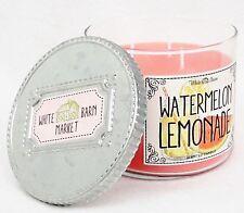 1 Bath & Body Works WATERMELON LEMONADE 3-Wick Candle 14.5 oz