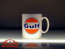 Gulf Racing Logo Coffee Mug 10oz. - Official Licensed Gulf Merchandise #3001