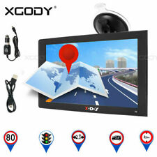 XGODY 9 inch Car Truck SAT NAV HGV LGV Bus Coach GPS Navigation 256MB-8GB EU Map