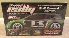 1/16 traxxas rally kawasaki edition (rare) brand new