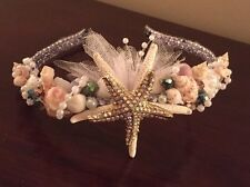 XO Bouquets Wedding Mermaid Seashell Headband Crown