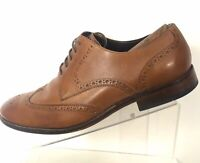 Cole Haan Wingtips 12 Brown Mens Leather Brogue Oxfords Dress Casual