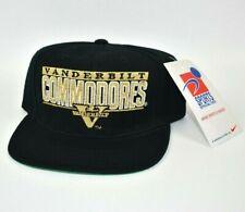 Vanderbilt Commodores Sports Specialties Pro Shield Vintage 90s Snapback Cap Hat