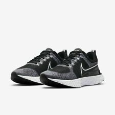 Nike React Infinity Run Flyknit 2 Running Shoes White Black CT2357-101 Men's NEW