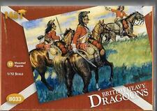HaT 8033 Napoleonic British Heavy Dragoons 1/72 Scale Plastic Figures