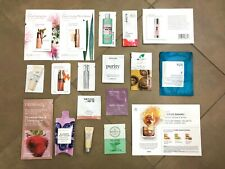 18 PC Women's Skincare Sample Set! Clarins It Cosmetics Philosophy Yuni+MORE