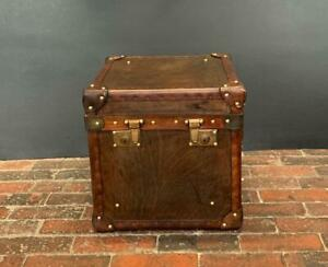 Single Antique Inspired Side Table Trunk