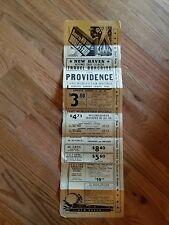 Vintage Travel Poster New Haven Providence Railroad ~ Flyer~