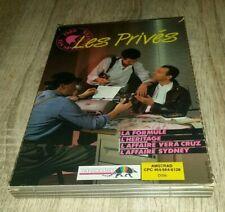 """JEU """"LES PRIVES"""" INFOGRAMMES/VERA CRUZ/L'HÉRITAGE/1988 amstrad cpc 6128,664,464"""