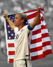 USA Soccer ABBY WAMBACH Glossy 8x10 Photo Spotlight Poster 2015 World Cup Champs