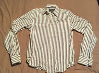 Mens Abercrombie And Fitch Shirt Size Medium Muscle Fit Great Condition