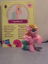 My little Pony Blind Bag Ploomette mit Karte - Kombiniere Versand!