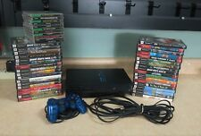 Sony PlayStation 2 PS2 Black FAT System SCPH-39001 HUGE Bundle Free Shipping!
