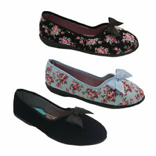 Ladies Slippers Grosby Grace Slipper 4 colours Quilted Lining Sizes AU 5-11 NEW