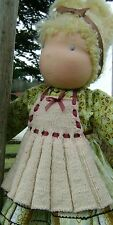 Milk and Cookies Knit Apron Pattern