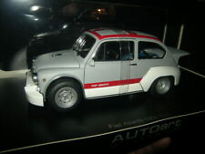 1:18 Autoart Fiat Abarth 1000 TCR Matt Grey/Red Stripes Nr. 72641 in OVP