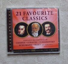 "CD AUDIO MUSIQUE / VARIOUS ""21 FAVORITE CLASSICS"" 21T CD COMPILATION NEUF"