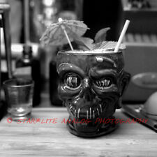 "Zombie Cocktail fine art film photography print 24"" x 24"" Tiki/Disney"