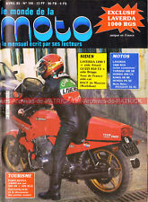 MONDE de la MOTO 100 LAVERDA 1000 RGS 1200 HONDA CX 400 SR YAMAHA PEUGEOT 55 AL