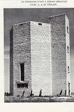 34 PEROLS LE RESERVOIR D EAU IMAGE 1957