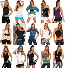 Wholesale Lot Sexy Tops Blouses Party Cocktail Club Wear Celebrity Rave S M L XL