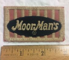 Moor Man's Moorman's Seed Feed Company Embroidered Uniform Patch