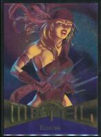 1995 Marvel Metal Trading Card #30 Elektra