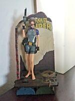 Collectible Tomb Raider Lara Croft in Wet Suit Diorama Base 1998