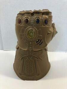 Marvel Avengers Thanos Infinity Gauntlet Electronic Lights & Sound TESTED